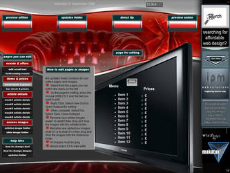 devyclub user interface by makatak1