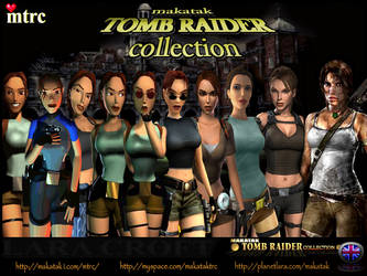 Lara Croft Game Character Models by makatak1