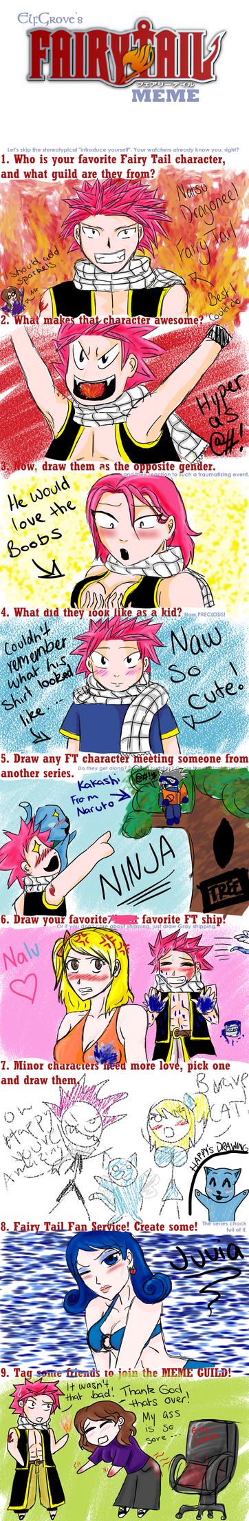 Fairy Tail Meme by xXxBlackKnightxXx on DeviantArt