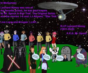 In Memoriam to Leonard Nimoy (1931-2015) by 15willywonka