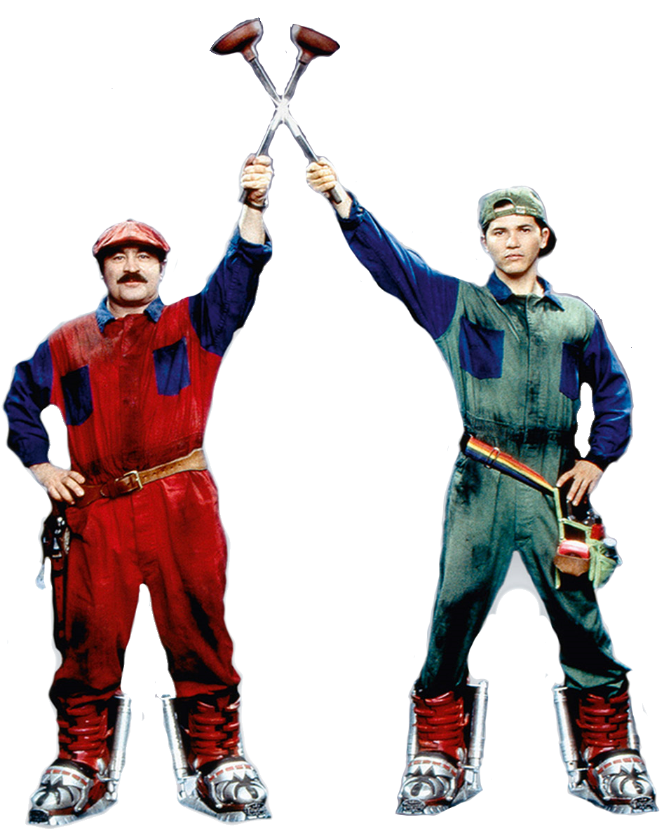 Mario And Luigi From Super Mario Bros The Movie By 15willywonka