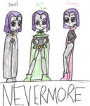 TT-Nevermore COLOURED by kelseyTHEttLUVR