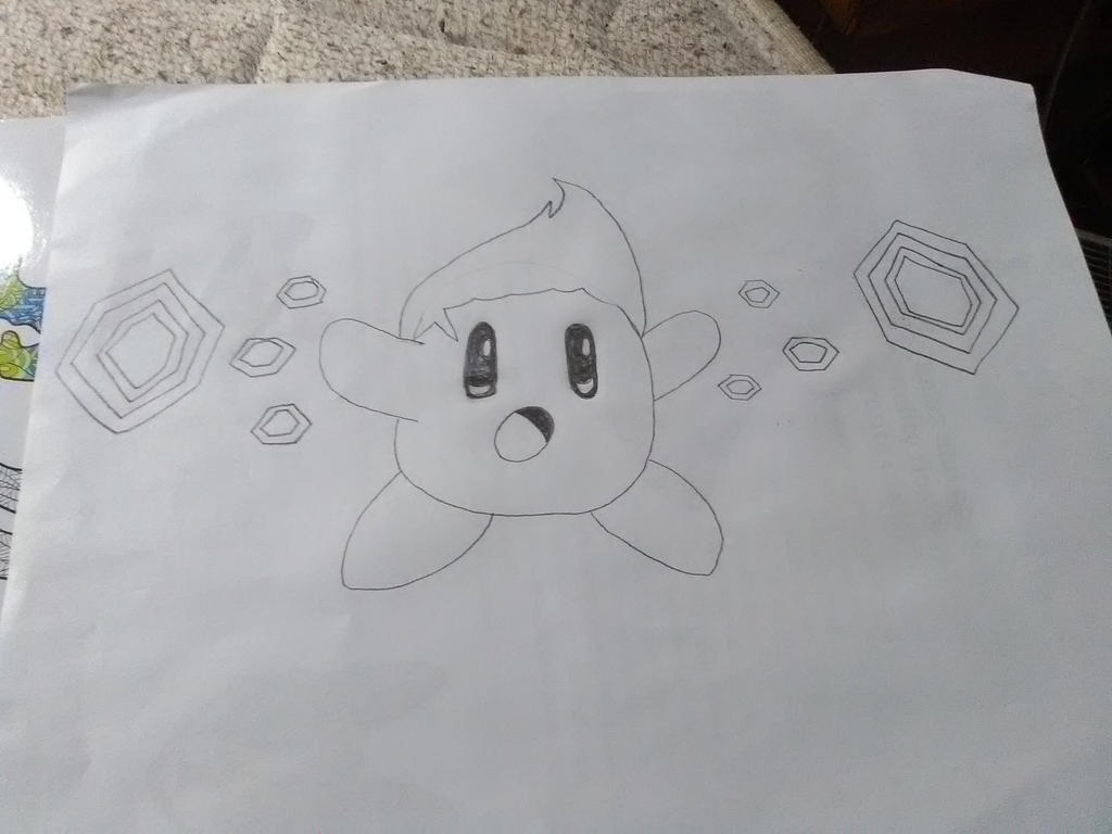 ESP Kirby but something's different... by SonPikachuBound2006