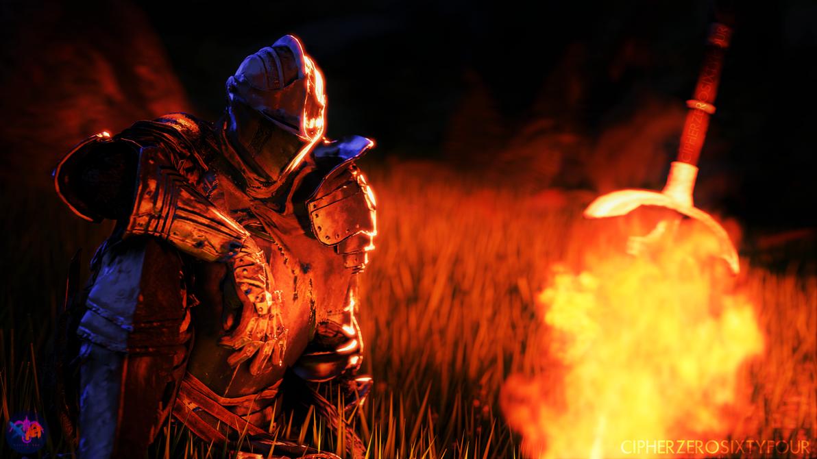 Dark Souls - Bonfire by CipherZeroSixtyFour