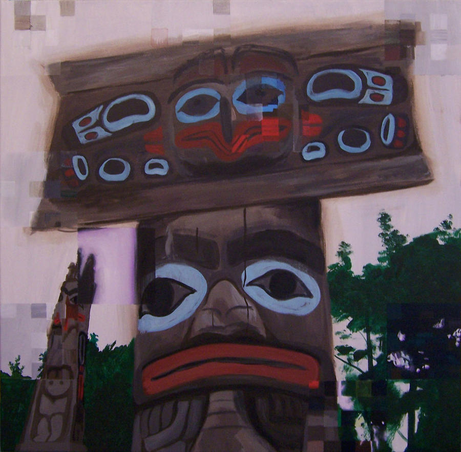 Artifacts: Haida Totem Pole by CheVD