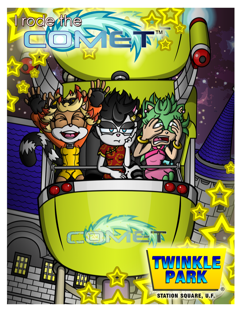 Souvenir from Twinkle Park by CheVD