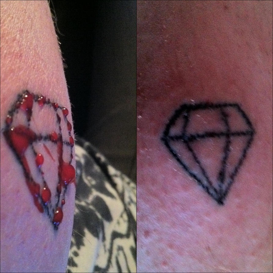 Stick n 39 poke fun by astrogriphin on deviantart for Are tattoos bad for your blood