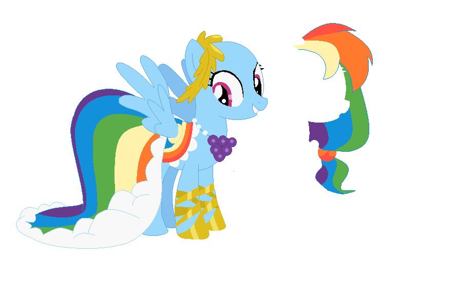 rainbow dash gala dress - photo #19