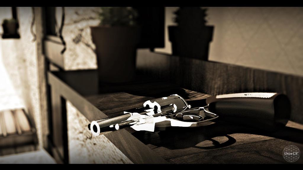 Pistol Scene by GarageFreak