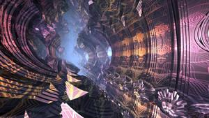 Geometric citadel V.2 - fractal animation