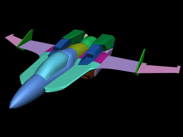 Sylphide Fighter WIP01 by X1Commander