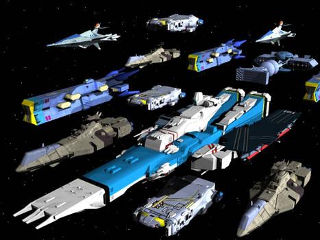 Anime Ship Fleet