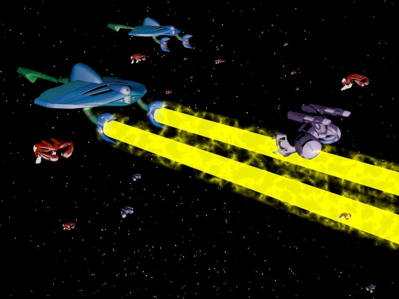 Invid Invasion Fleet 01 by X1Commander