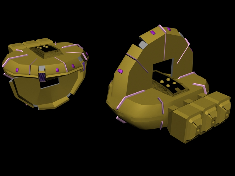 Invid Carrier WIP 03 by X1Commander