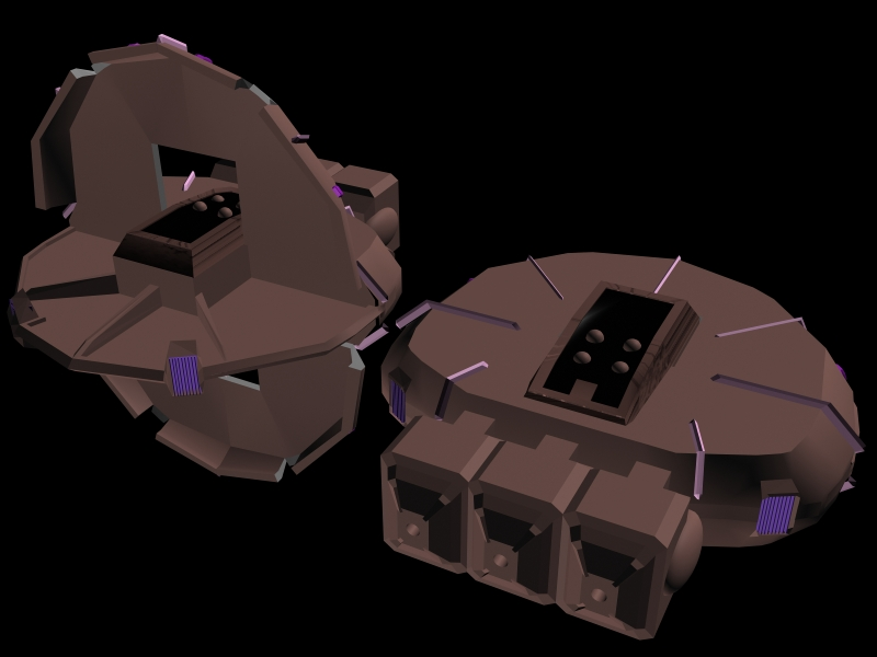 Invid Carrier WIP 04 by X1Commander