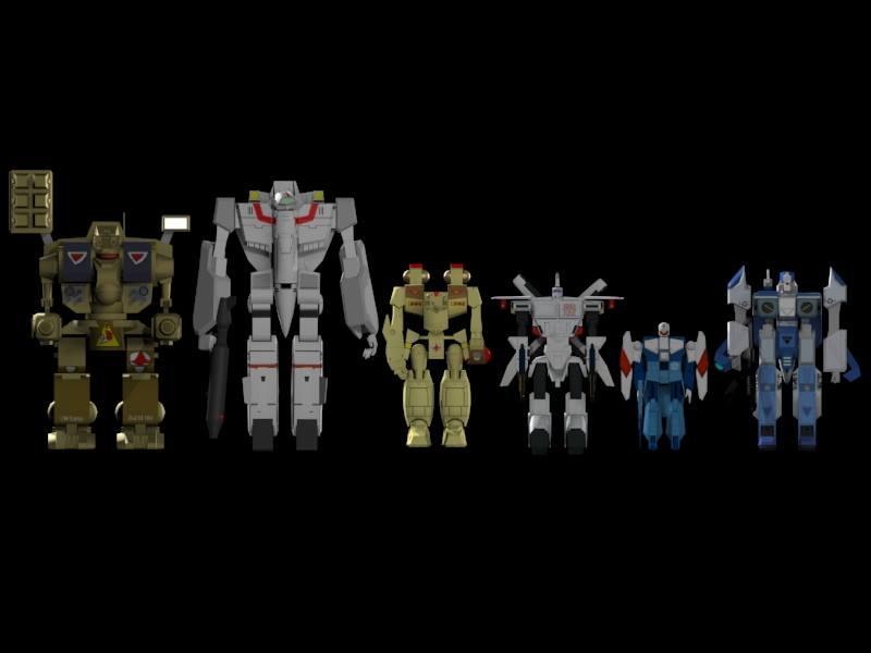Mecha Scale 01 by X1Commander