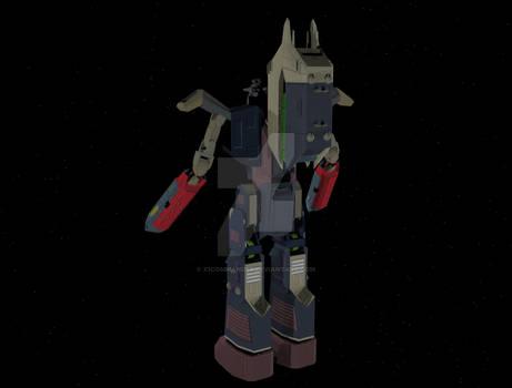 Ark Angel Battle Mode Rear view
