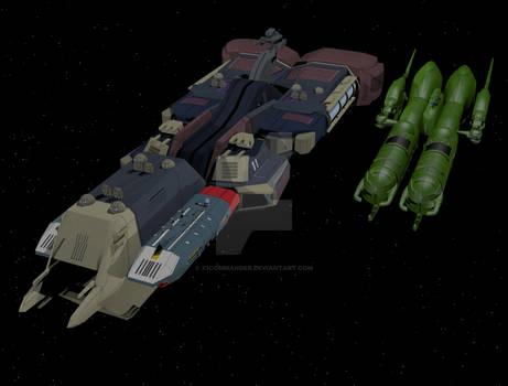 SDF-3 alongside Ark Angel