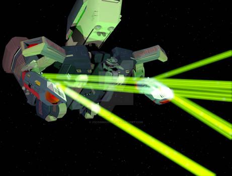 ArkAngel Firing Lasers 01