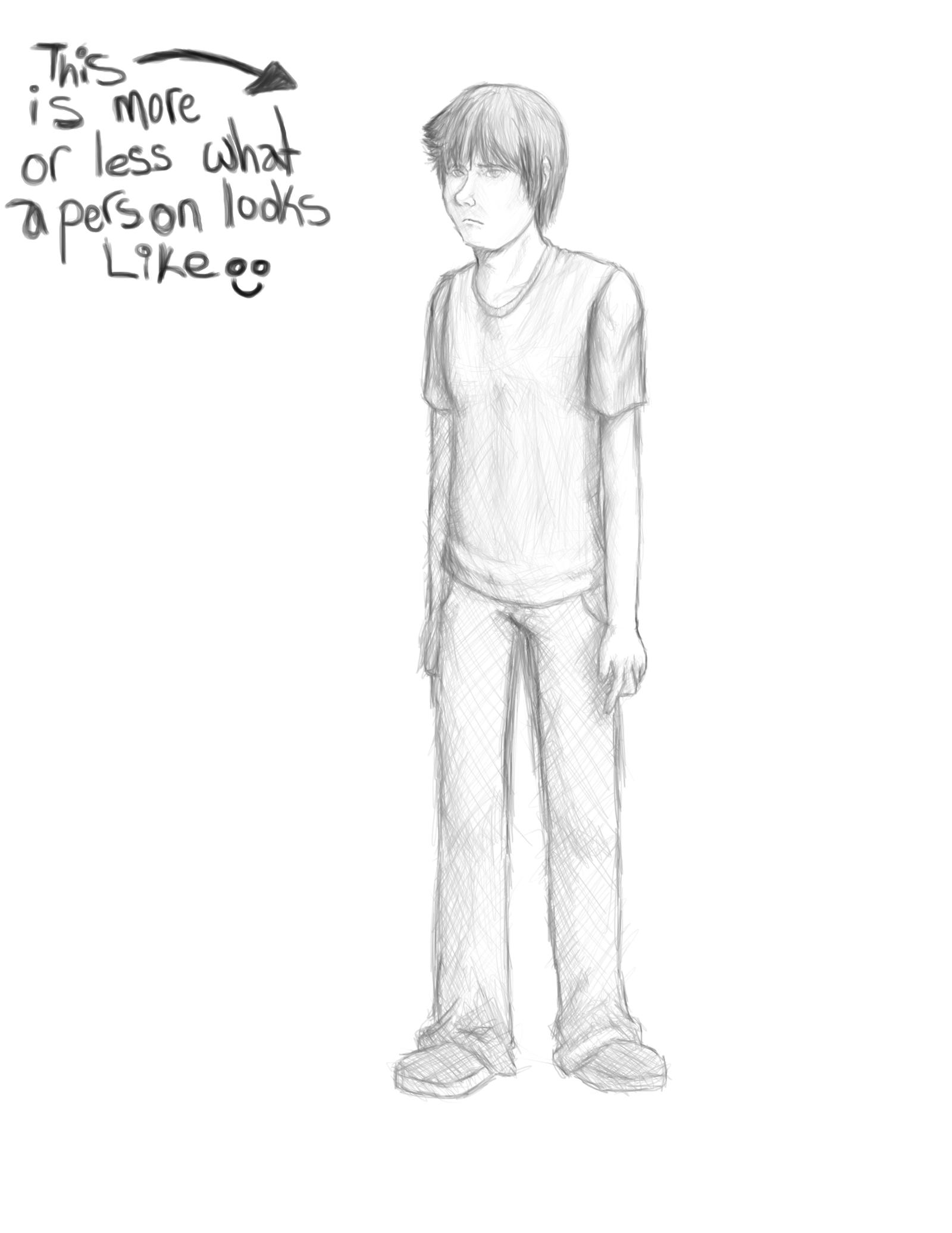 How To Draw A Person Male Solution For How To For Dummies