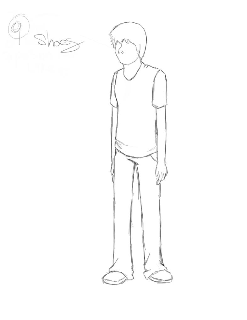 How To Draw A Person S:2 P:9 By Livesloweatslow