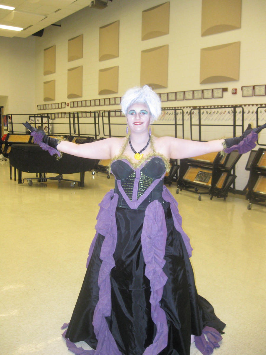 Attempted Ursula Costume by LaurenMissing on DeviantArt