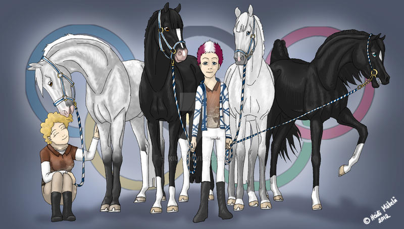 We Are Ready - Olympic Inspection by Ikiuni