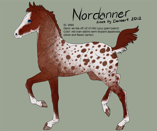 2689 Nordanner foal design (new) by Ikiuni