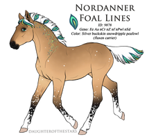 9878 - Nordanner Foal Design by Ikiuni