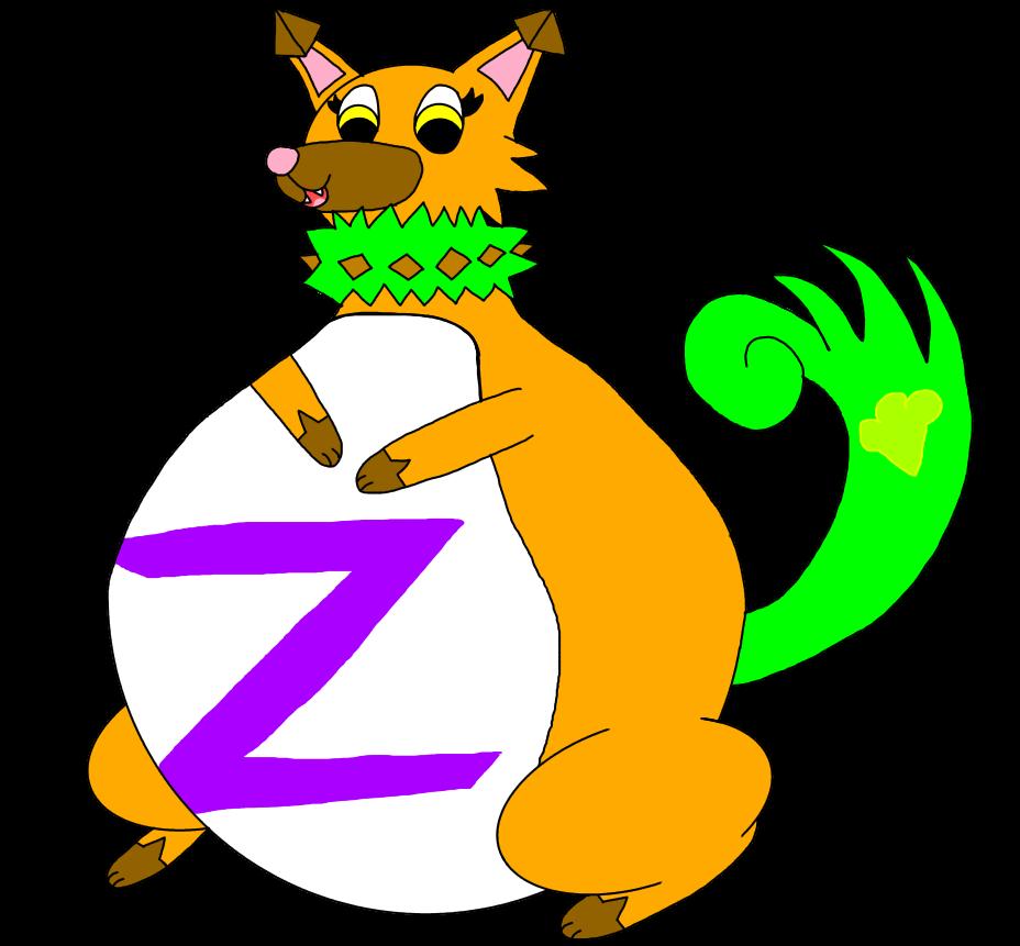 Gasruff Z The Gassy Fat Rockruff by AsheAndCJThePikachus
