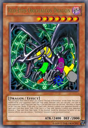 Red-Eyes Orichalcos Dragon by AsheAndCJThePikachus