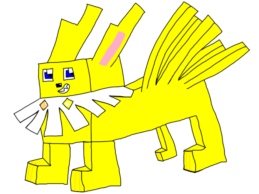 Spark The PokeQuest Jolteon by AsheAndCJThePikachus