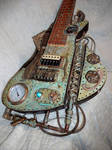 Steampunk Lapsteel guitar