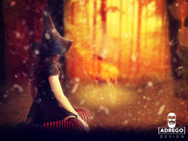 Lady Of The Forest2 by AdregoDesign