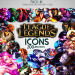 200 Icons - League of Legends
