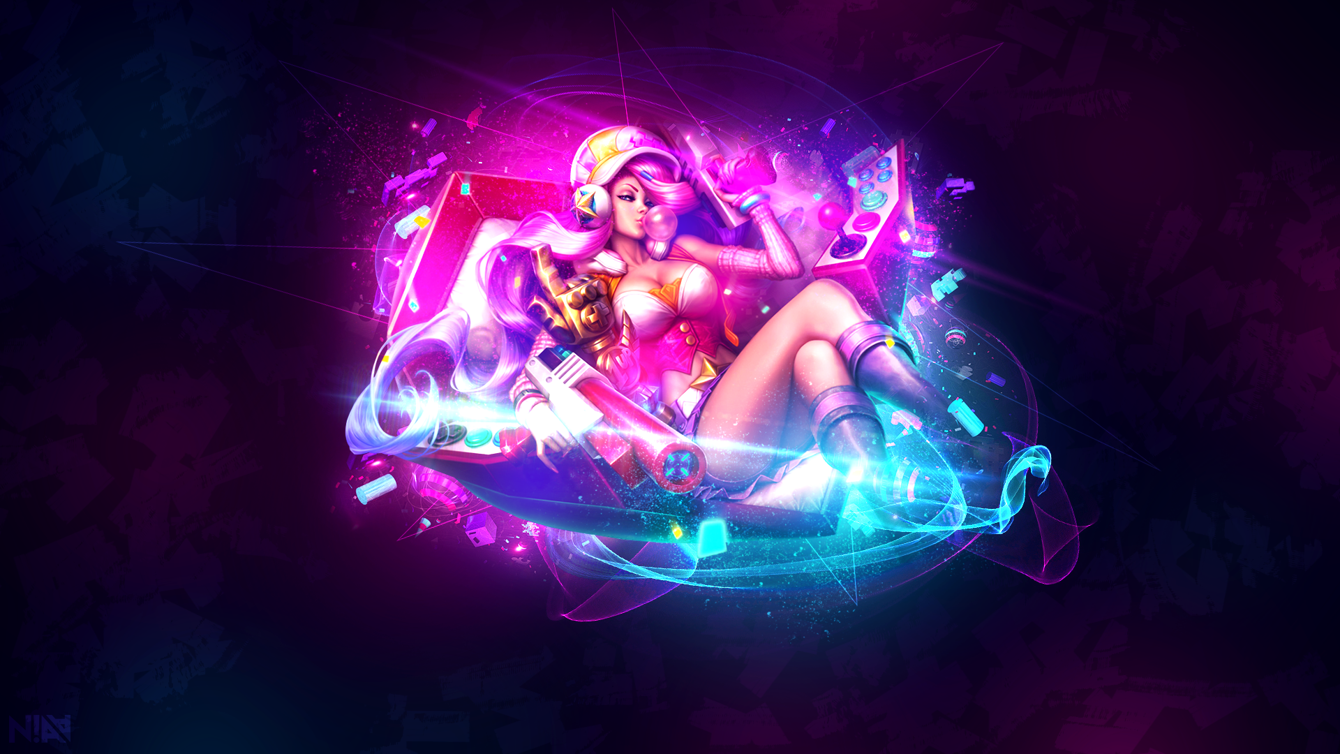 Arcade Miss Fortune Wallpaper By Aliceemad On Deviantart