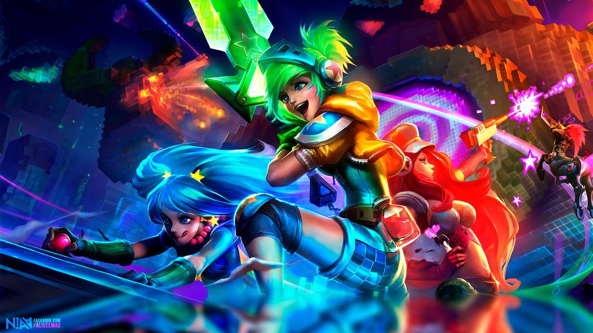 League Of Legends Arcade Wallpaper 19x1080 By Aliceemad On Deviantart