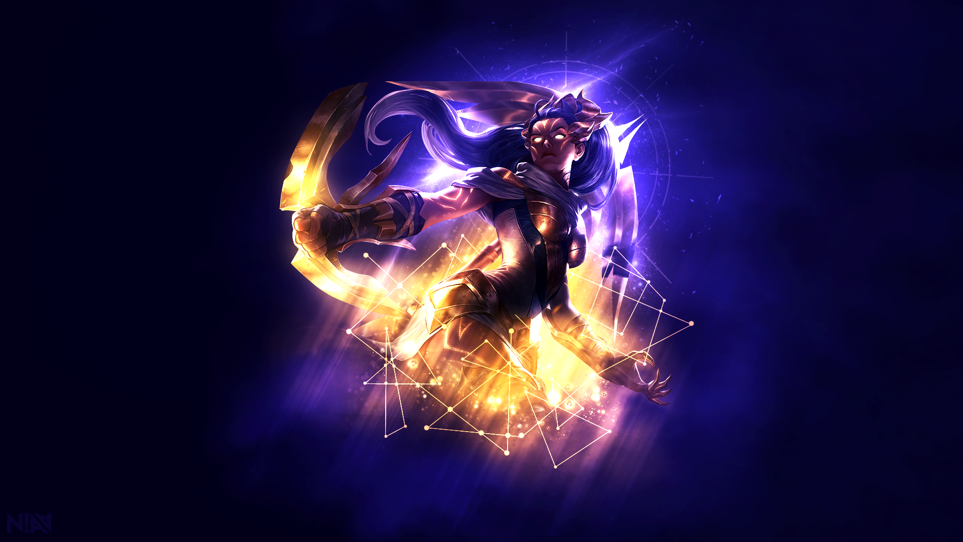 Arclight vayne wallpaper by aliceemad on deviantart for Deviantart wallpaper