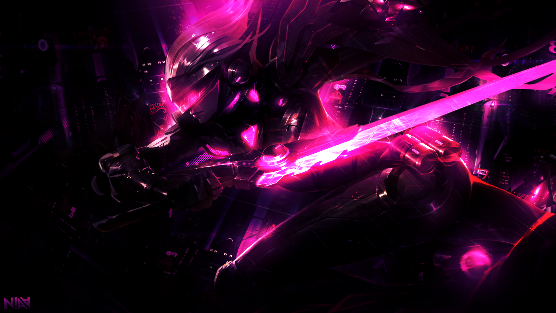 project fiora wallpaper 1920x1080 by aliceemad on