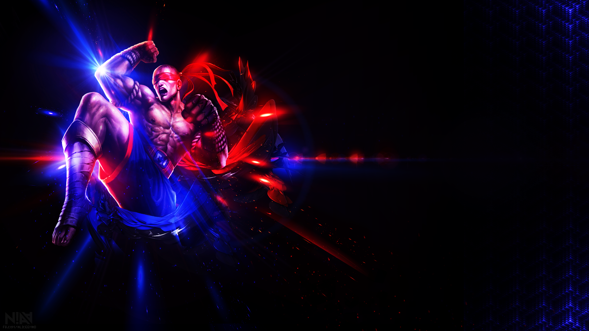 Lee Sin Muay Thai Wallpaper 1920x1080 By Aliceemad On Deviantart