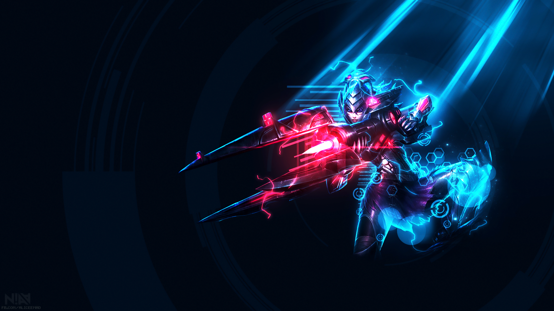 League Of Legends Wallpaper Headhunter Caitlyn By Aliceemad On