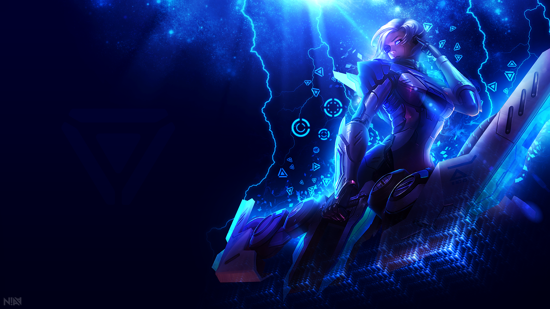 Project Ashe Wallpaper 1920x1080 Disruption By Aliceemad On