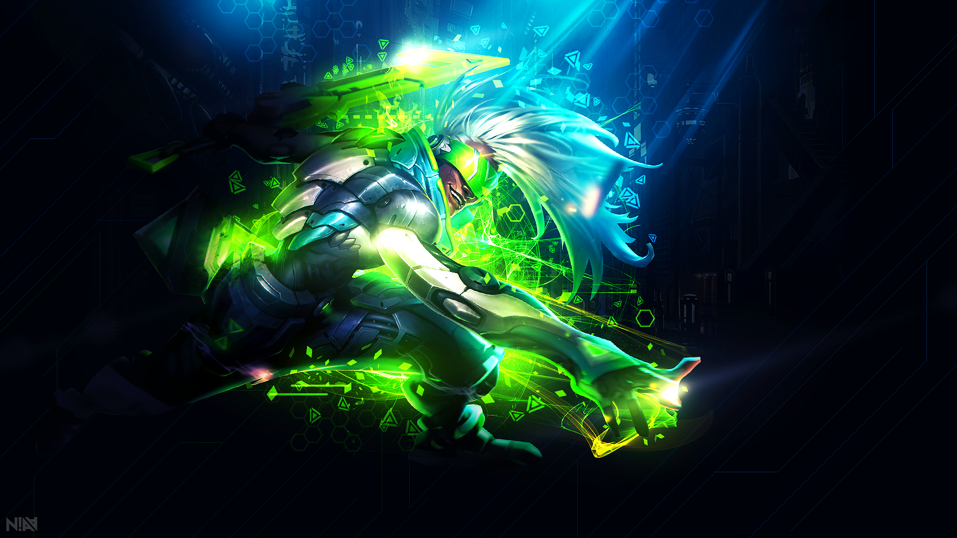 Project Ekko Wallpaper 1920x1080 Disruption By Aliceemad