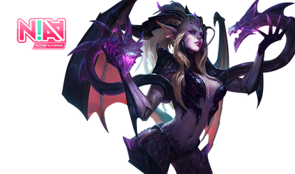 Dragon Sorceress Zyra Render - League of Legends