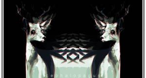 Oh Deer. by cephalopagus