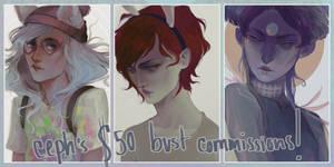 Commissions.