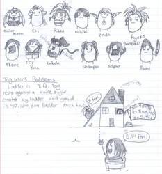 Math Notes? by ninaclaww