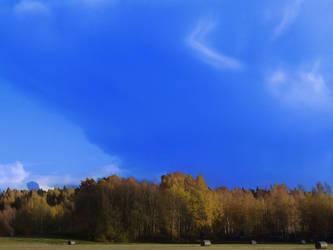 big fat rain cloud by PhotoFrama