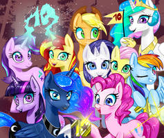 Friendship is Magic (10K+ Pageviews) by Timur328