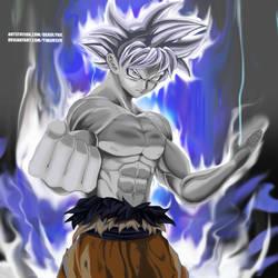 Ultra Instinct Goku by Timur328